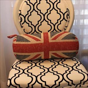 Union Jack Bolster Pillow