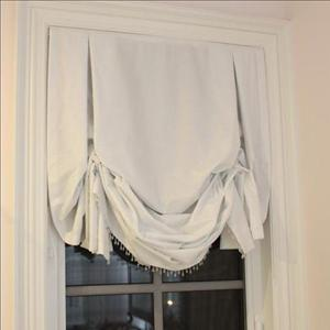 Alisha Pinstripe Soft Roman Blinds