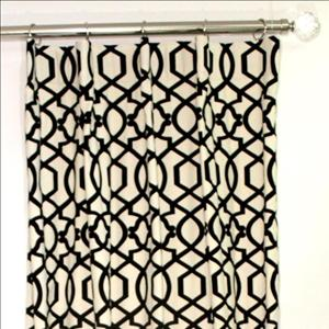 Sultana Lattice Panel - Black