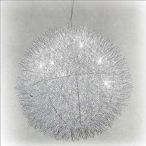 Hanging Lamp - Aluminum Ball