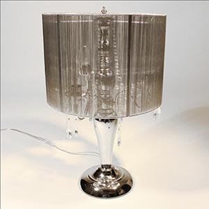 Table Lamp 3 Arms Organza Shade