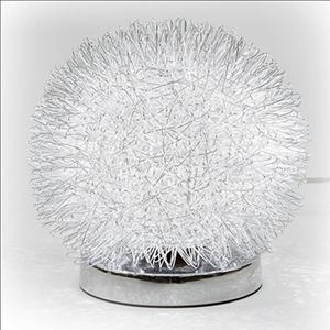 Table Lamp - Aluminum Ball