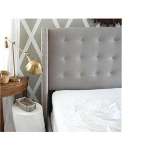 Tufted Winged Headboard